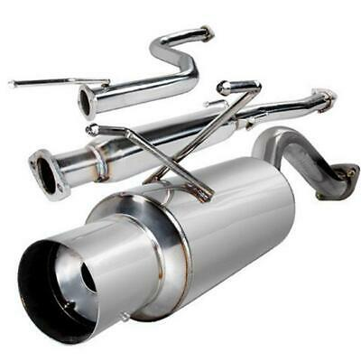 Spec-D Tuning MFCAT2-CV963 2.5 in. Inlet N1 Style Catback Exhaust for 96 to 0...