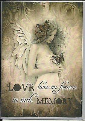 Love Lives On... Greeting Card By Jessica Galbreth- Blank Greeting Card