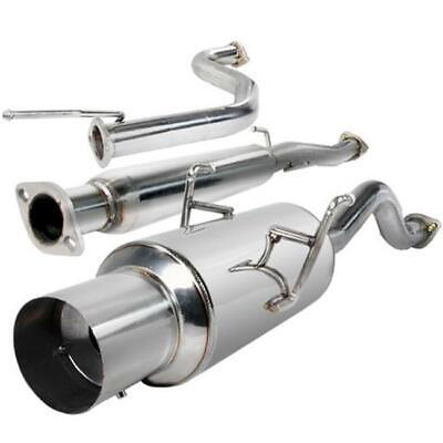 Spec-D Tuning MFCAT2-INT94GSR 2.5 in. Inlet N1 Style Catback Exhaust System f...