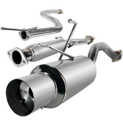 Spec-D Tuning MFCAT2-CV92 2.5 in. Inlet N1 Style Catback Exhaust System for 9...