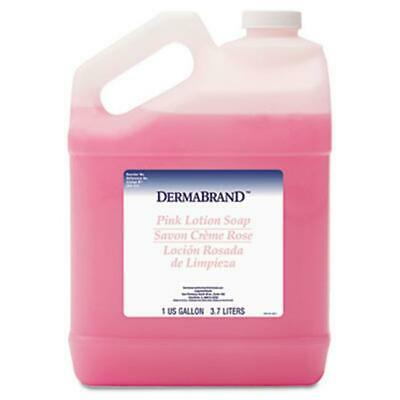 Dermabrand 410EA Mild Cleansing Pink Lotion Soap- Pleasant Scent- Liquid- 1 g...