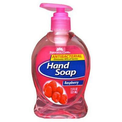 Personal Care 90664-8 Raspberry Anti-Bacterial Liquid Hand Soap - 7.5 oz. Pac...