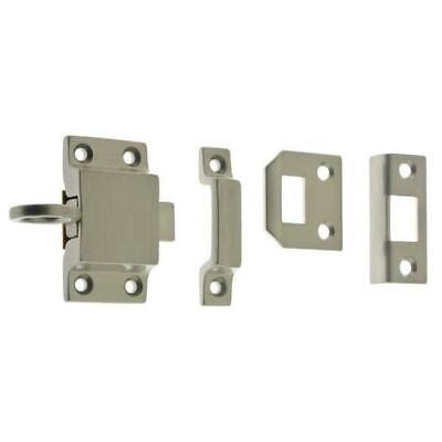 Idh by St. Simons 21006-015 Solid Brass Transom Catch Satin Nickel