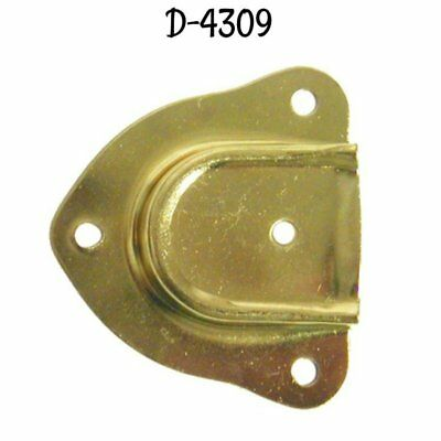 CAP STYLE TRUNK Handle Loop - Brass Plated chest steamer