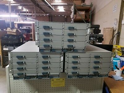 CISCO UCS 5108 Blade Server Chassis Enclosure N20-C6508 2X PSU 8x Fans
