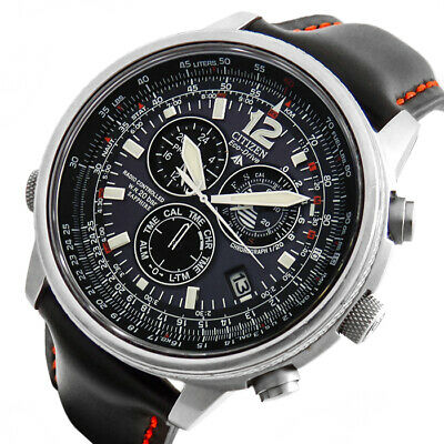 Citizen Promaster Sky Eco-Drive Funk Gmt Solar Alarm Chronograph Uhr As4020-36E
