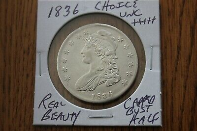 1836   Choice Unc+++   Capped Bust Half Dollar