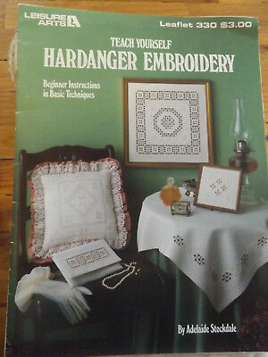 Teach Yourself Hardanger Embroidery Leisure Arts 330