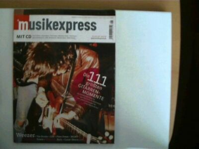 Musik Express - Sounds, Heft Nr. August 2008, Autorenkollektiv: