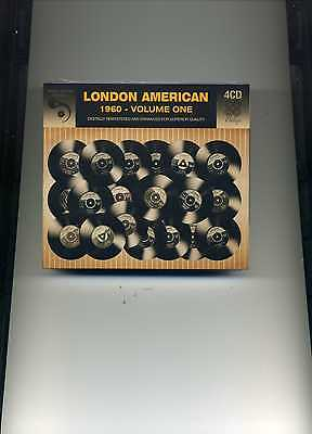London American 1960 Volume One - Eddie Cochran Pat Boone Drifters - 4 Cds - New