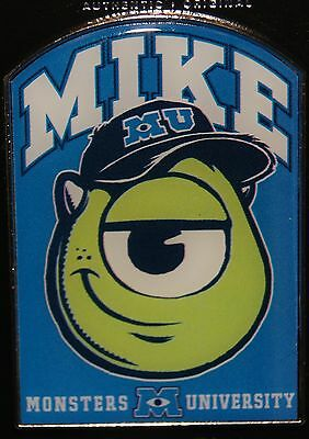 Disney 2014 Monsters University Inc Mike Pin NEW RELEASE ON CARD
