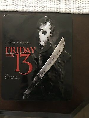 USED Friday the 13th: The Complete Collection (Blu-ray Disc, 2013, 10-Disc Set)