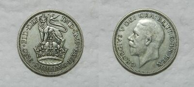 Great Britain : Silver Shilling 1936 - George V