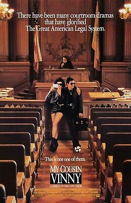 My Cousin Vinny movie poster - Marisa Tomei, Joe Pesci - 11 x 17 inches