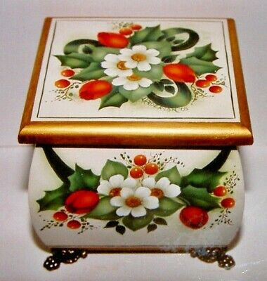 "Gail Anderson Tolehaven Collection tole pattern ""The Little Christmas Box"""