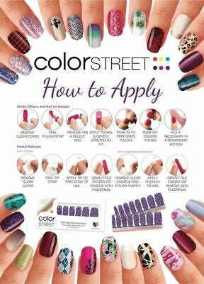 NIP Color Street Nail Polish Strips. CHOOSE Your Favorites