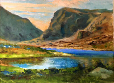 Killarney Ireland Summer  9 x 12 in. Oil on canvas  HALL GROAT II