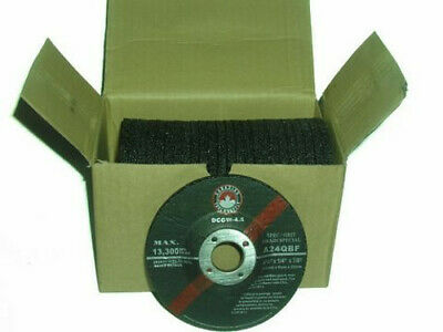 "FREE SHIPPING CANADA - 4.5"" (115mm) Grinding Wheels angle Grinder (25 Discs) mig"