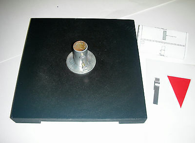 "8"" x 8"" Base for 24 Inch Color Dry Erase Prize Wheel (wheel not included)"