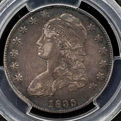 1835 Capped Bust Half Dollar, Overton O-102 - PCGS XF40