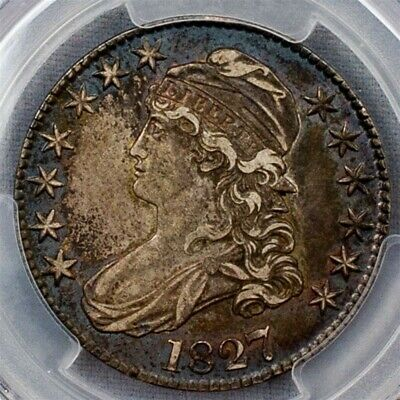 1827 Capped Bust Half Dollar, Overton O-112 - PCGS XF 45 - Square Base 2