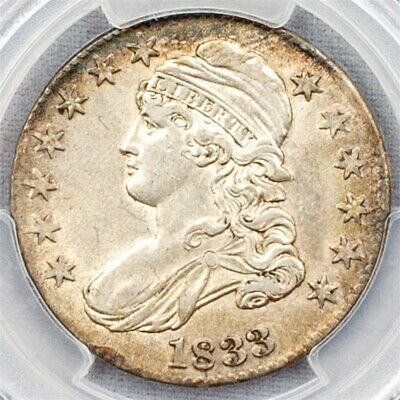 1833 Capped Bust Half Dollar Overton O-112 - PCGS AU53 - CAC Certified