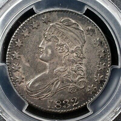1832 Capped Bust Half Dollar, Overton O-119 - PCGS AU53 - Small Letters