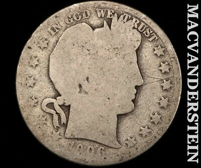 1906-D Barber Half Dollar-Scarce Better Date!! #e1015