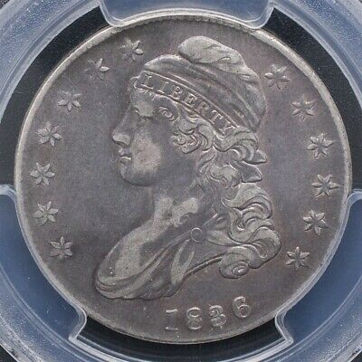 1836 Capped Bust Half Dollar, Overton O-120 - PCGS XF40 - Lettered Edge