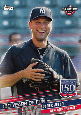 2019 Topps Opening Day 150 YEARS OF FUN YOF-22 Derek Jeter