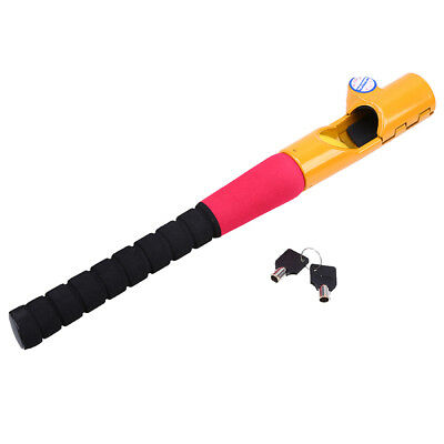 Auto Car Truck Anti-Theft Security Rotary Steering Wheel Lock with Keys