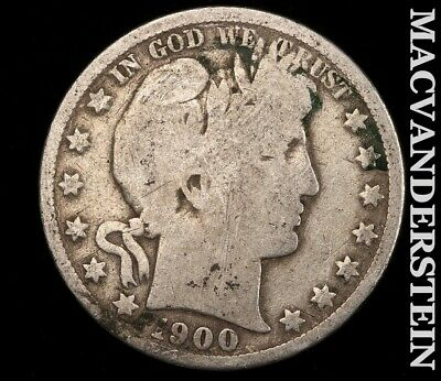 1900 Barber Half Dollar-Scarce Better Date!! #e9514