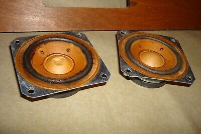 "Vintage KLH 3½"" tweeters for Model 24, 25 and Others, 1967, Tested"