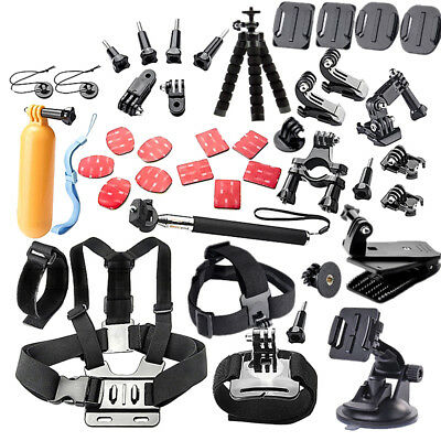 44 in 1 Action Camera Accessories Kit for GoPro HeroGo Pro Hero 5/4/3/2/1 SJCAM