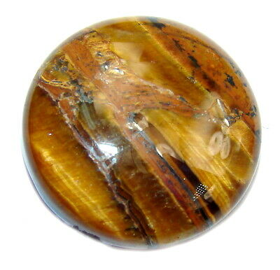 Natural Amazing iron brown tigers's eye 20.5ct loose stone from SilverRush Style