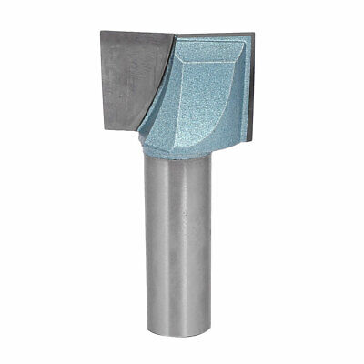 """1/2"""" Shank 1-1/8"""" Cutting Dia 2-Flute Carbide Tipped Cleaning Bottom Router Bit"""