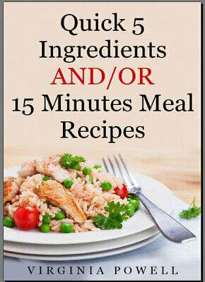 5 Ingredients: Quick and Easy Food  2019  001IP &🔥 delivery By Email🔥