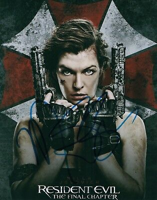 Resident Evil 6 Final Ruby Rose Abigail Signed Movie Photo