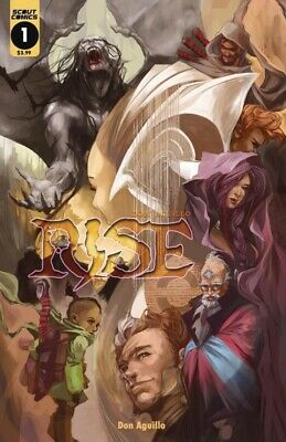 Rise #1 Cover A 1st Print Scout Comics 2019 NM Sold Out Hot New Series