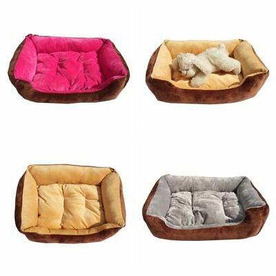 Puppy Cushion House Large Pet Dog Cat Bed Pet Soft Warm Kennel Dog Mat Blanket