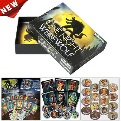 One Night Ultimate Werewolf - Board Game & Sealed Gifts Toys Brand New