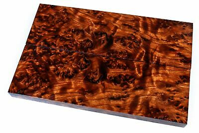 High Figured Stabilized Redwood Lace Burl  Knife Scales SCL7805