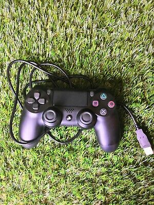 Sony Playstation 4  Black WIRELESS Controller PS4 controller DualShock 4  +Cable