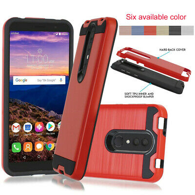 Shockproof Armor Slim Hybrid Rubber TPU Case For Alcatel Onyx/Revvl 2/1x 2019