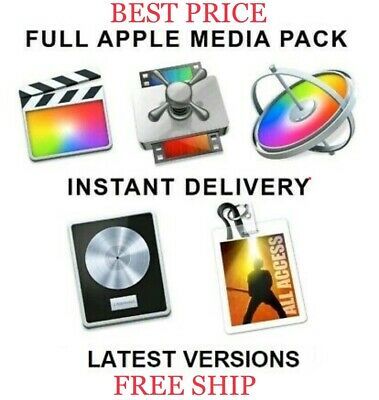 Logic Pro + Final Cut + MainStage + Gift | Instant Download | Latest Versions