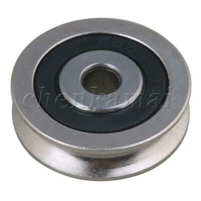 30mm OD Bearing Guide Passive Pulley Rail Groove for Idler Wheel 355Kg Bearing