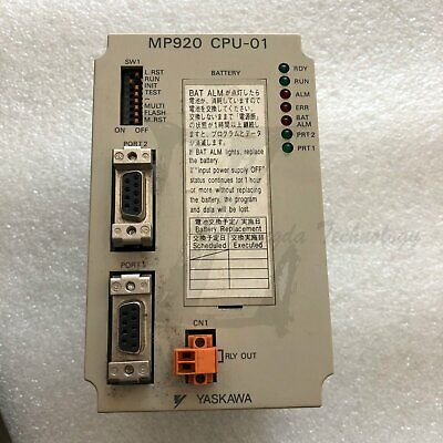 1PC Used Yaskawa JEPMC-CP200 Controller MP920 CPU-01 Tested In Good Condition