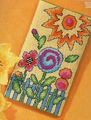 Tapestry/needlepoint chart. Barbara Baatz spectacle case. Quick and easy