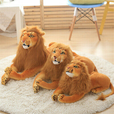 Lifelike Lion Friend Light Brown For Children's Soft Plush Stuffed Animal Toy
