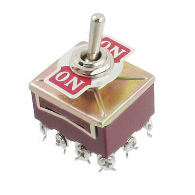 12 Screw Terminals ON-ON AC 250V/15A 380V/10A Toggle Switch